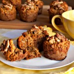 Gluten Free or Paleo  Banana Raisin & Nut Muffins