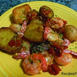 BabyPotatoes GarlicTomatoes Prawns