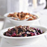 Glazed Beets & Red Cabbage with Pepper-Toasted Pecans