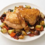 Chicken Thighs Root Veggie Hash