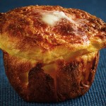 Smoked Cheddar Popovers