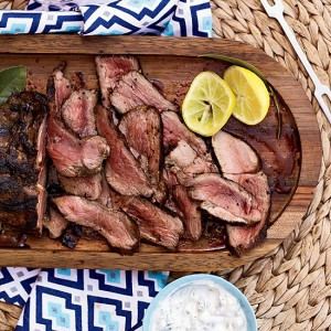 Greek-Style Leg of Lamb