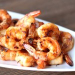 Maple-Chili Grilled Shrimp