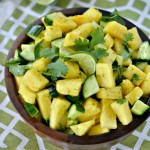 Pineapple Cucumber Salad with Tropical Dressing