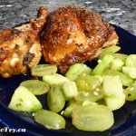 Chicken Thighs/Drumsticks with Ginger & Thyme