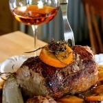 Roast Pork Plum Orange Sherry Sauce