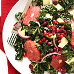 Kale Citrus Salad with Pickled Onion