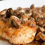 Parisian Chicken Mushrooms