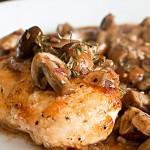 Parisian Chicken & Mushrooms