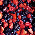 Gin Maple Macerated Berries