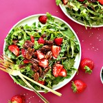 Strawberry, Arugula Salad