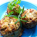 Cauliflower Biscuits with Bacon & Jalapeño (Paleo & Low Carb)