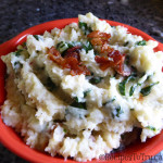Irish Cocannon Cauliflower Potato Kale Mash