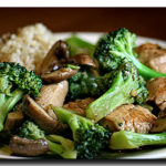 Chicken Broccoli Mushroom Stir Fry