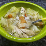 cabbage chicken soup