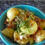 German Potato Salad for 2 ( Instant Pot )