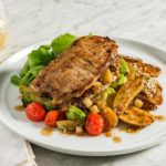 Stuffed-Pork-and-crispy-potatoes-brussel-sprouts