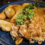 Meatloaf potatoes carrots Mini Instant pot