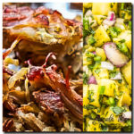 pork carnitas Pineapple Salsa